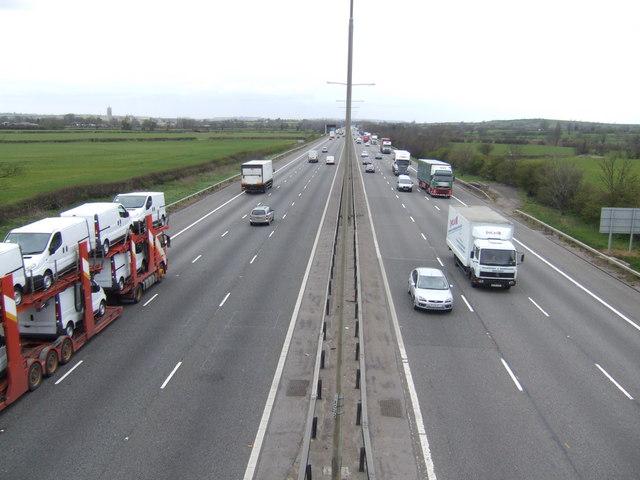 M1 north towards Leeds