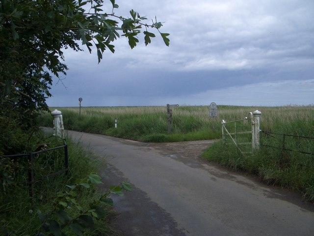 Norfolk Coast Path at Brancaster