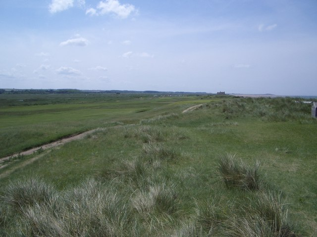 Brancaster Golf Course Beside the Sea