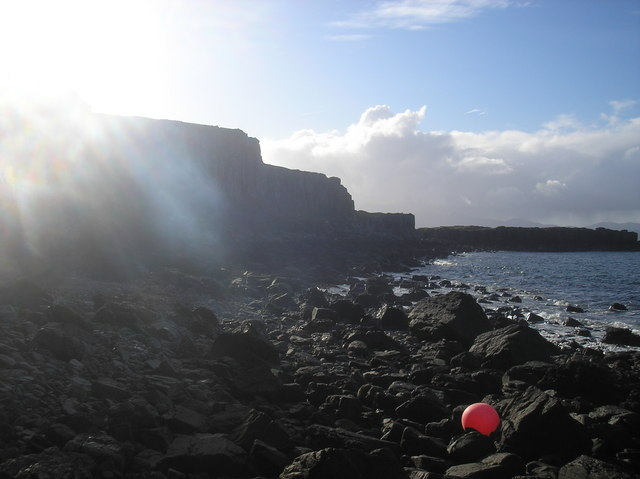 Cliffs near Cave