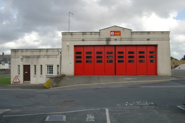 Bude fire station
