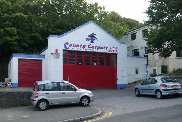 St Ives old fire station