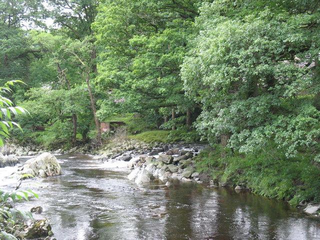 The confluence of Afonydd Camlan and Mawddach