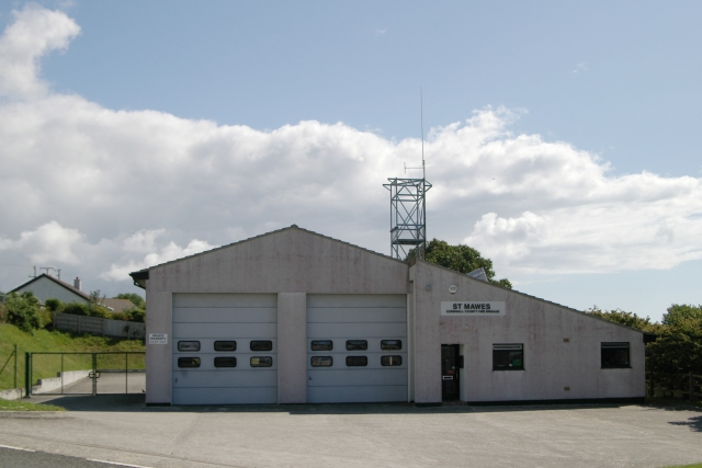 St Mawes fire station