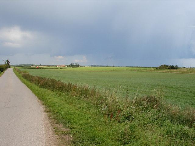 Looking towards Scopwick Lodge Farm