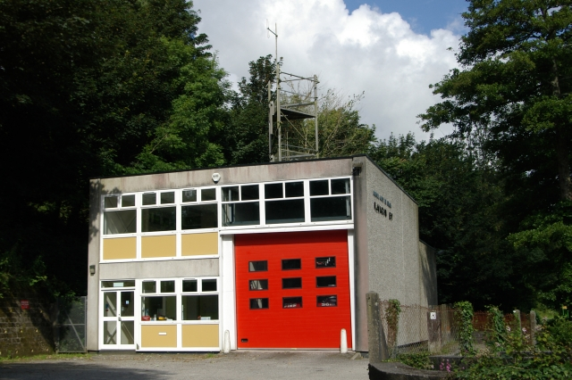 Mevagissey fire station
