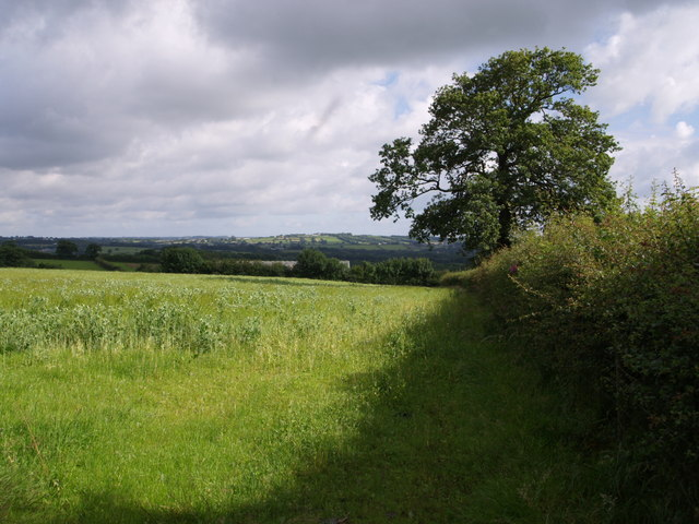 Near Lower Worth Farm