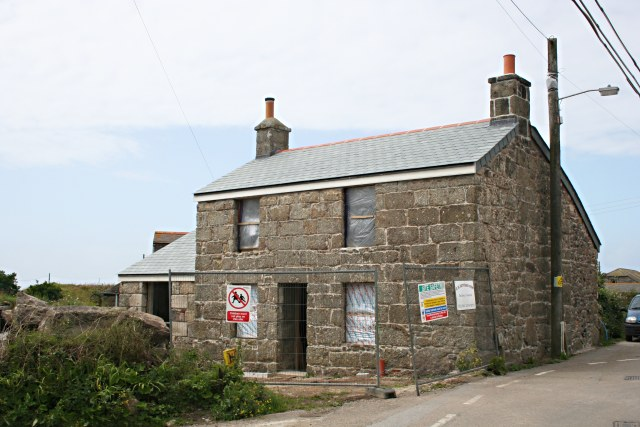 House Renovation in Botallack Village