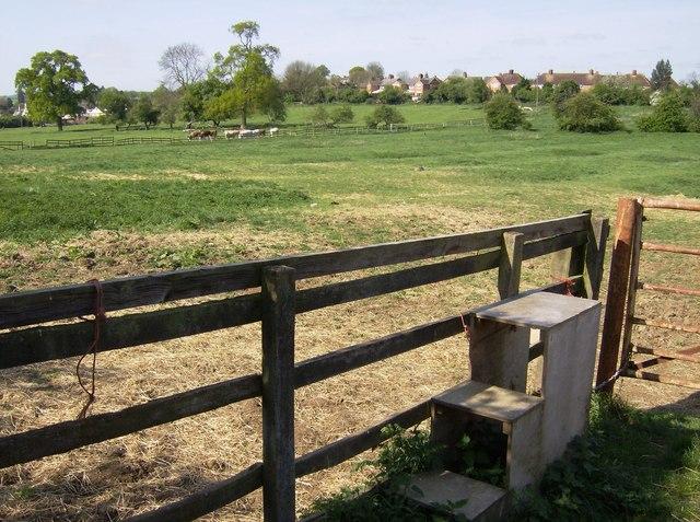 Horse mounting box or stile?