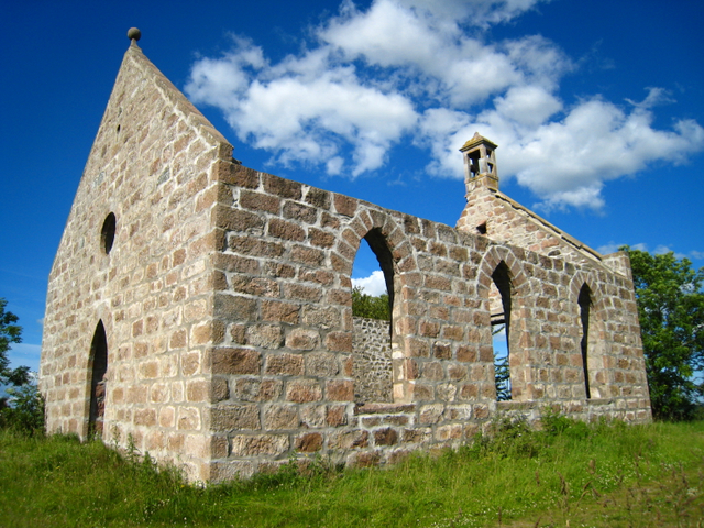 The old Parish Church, Kirkton of Oyne