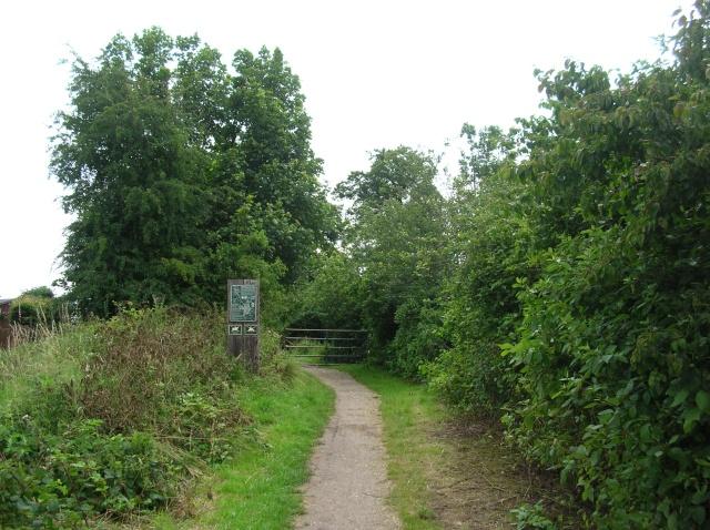 Start of the Harland Way