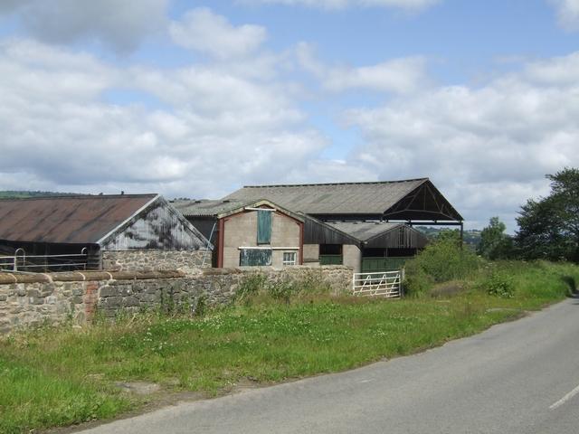 More barns at Leigh Hall Farm