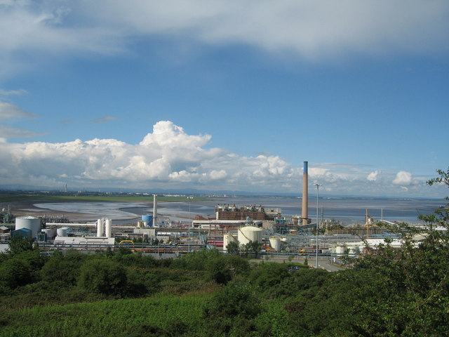 ICI, Weston Point from Runcorn Hill