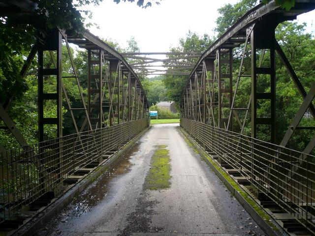 Vehicle Bridge over River Derwent