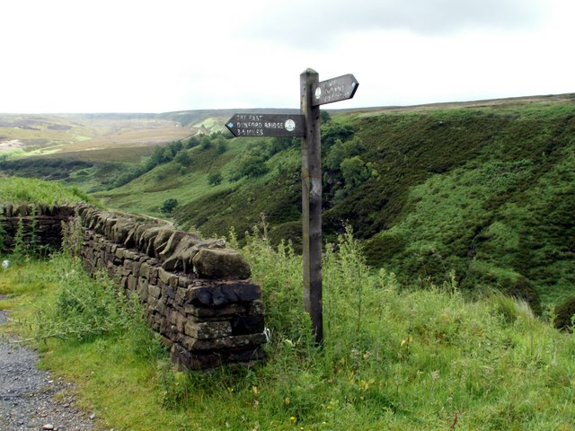 Above the Portals of Woodhead Tunnels