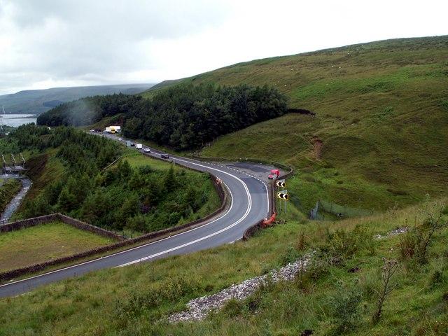 The A628 Woodhead