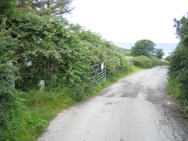 The Road to Dinmor Park Quarry