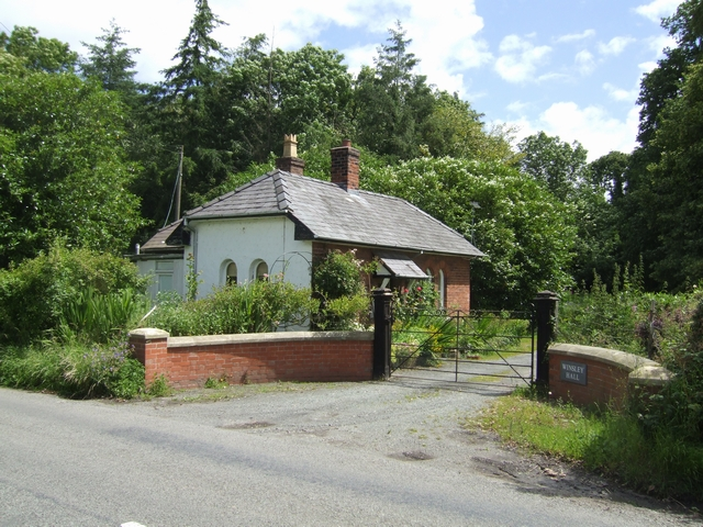 Lodge to Winsley Hall