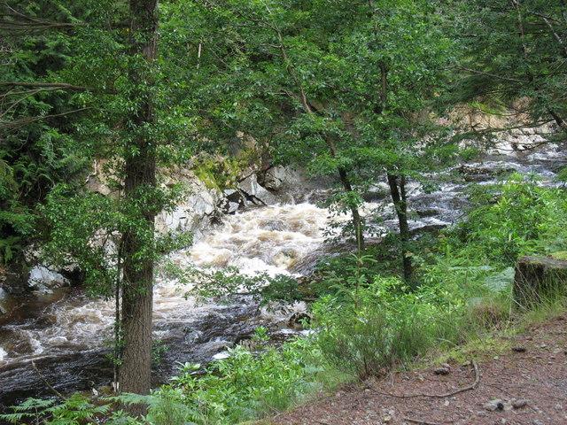 Wild water in the Mawddach