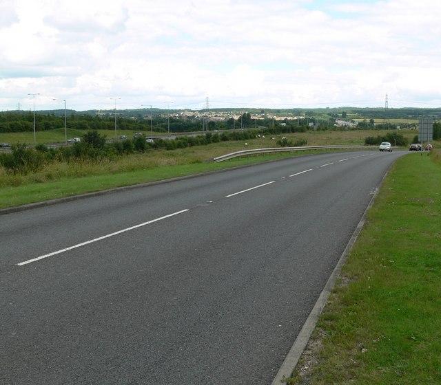 The B5380 Ratby Lane
