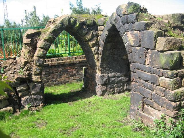 Ruins, Weston Village