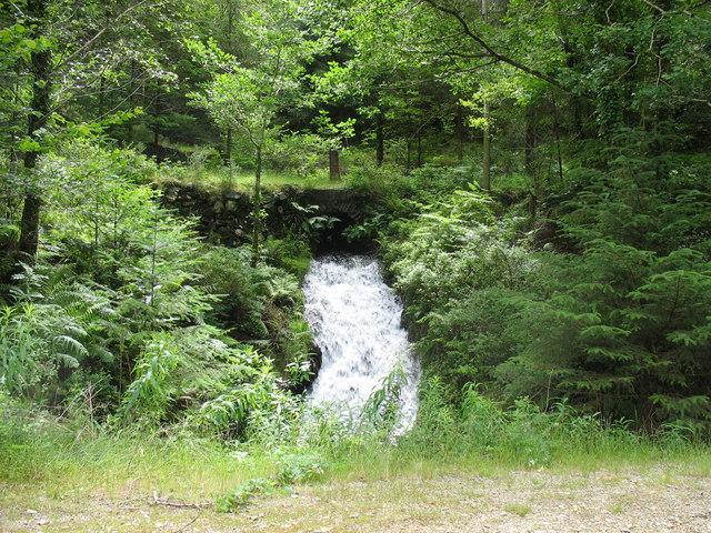 Swollen tributary