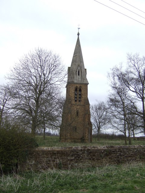 Little Brington spire