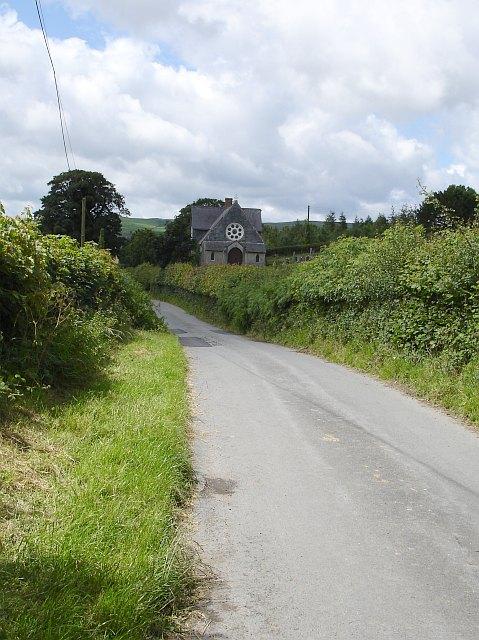 Chapel near Pen-yr-wtre