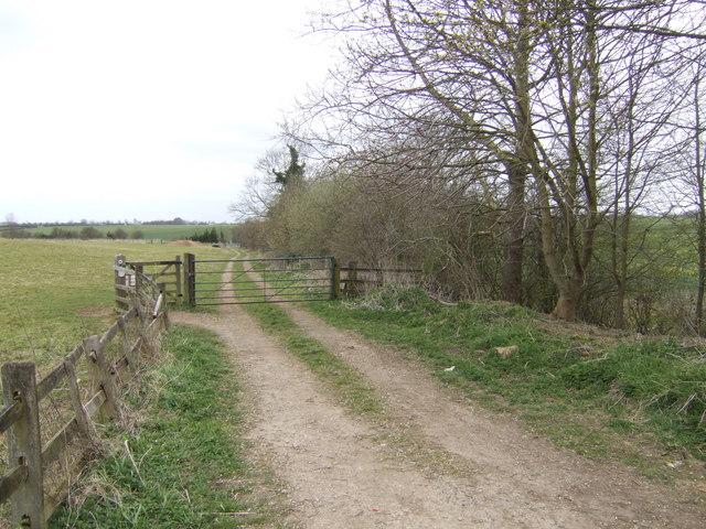 Bridleway west to Murcott