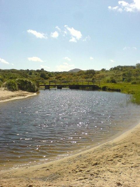 Freshwater Stream at Lligwy Bay