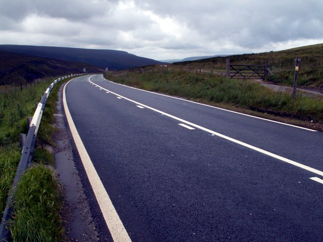 A628 at Longside End