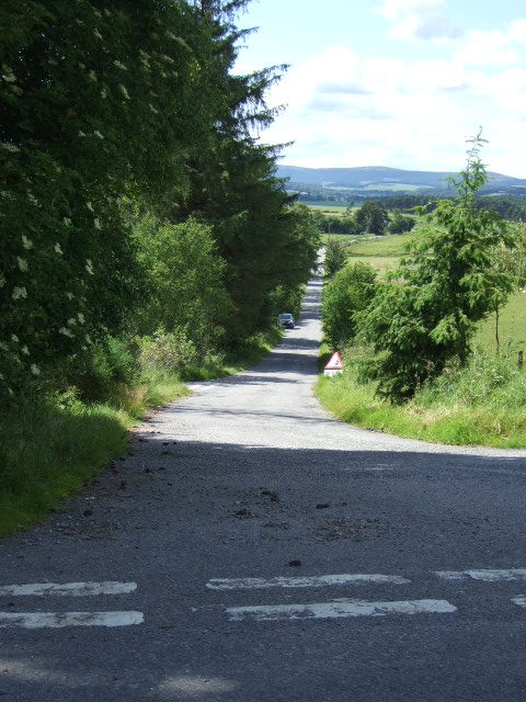 Road to Boghead and Tarland