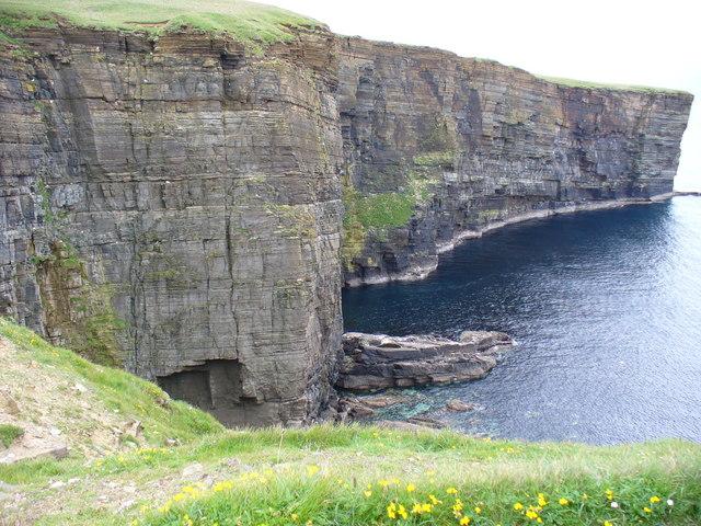 Cliffs by Point of Lyregeo
