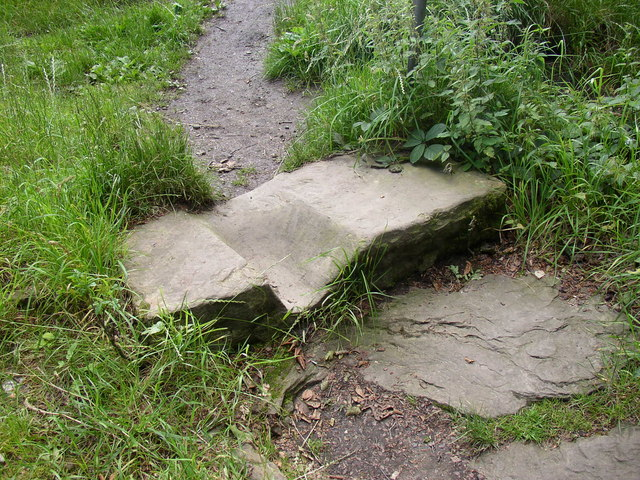 Top step on footpath to Canford Drive, Allerton, Bradford