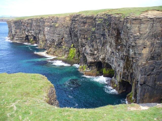 Cliffs at North Gaulton