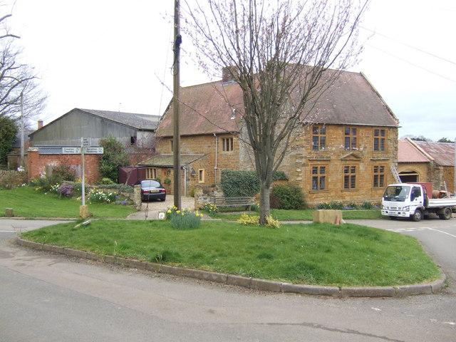 Centre of Teeton