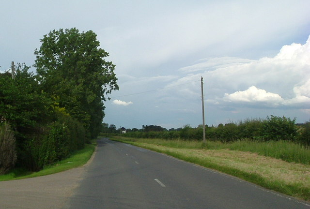 Road to Gt Staughton