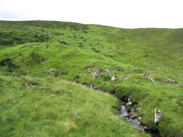 Shielings by Loch Sneosdal