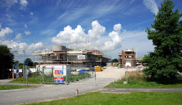 Building work at The Prospect Inn, Minster, Thanet, Kent