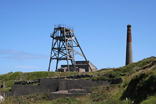 Modern Remains at Botallack Mine