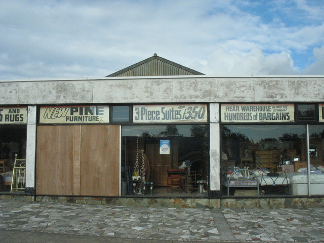 Furniture store at Penygroes