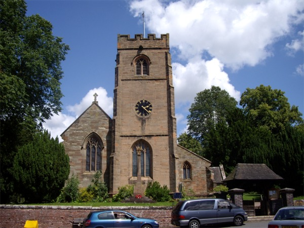 Parish Church of St Leonards, Clent