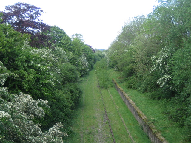 Disused railway near Sandhill