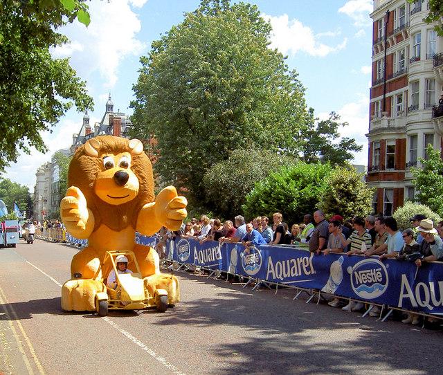 Pre prologue parade 'Le Tour De France'.
