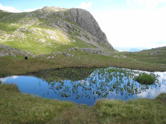 Tarn at the head of Dungeon Ghyll