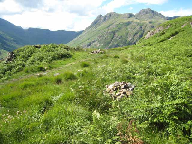 Above Blea Tarn Pass