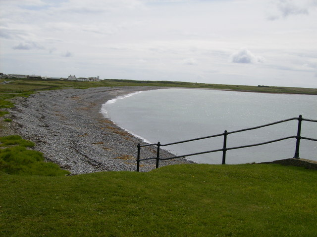 Start of the Langness Peninsula at Derbyhaven