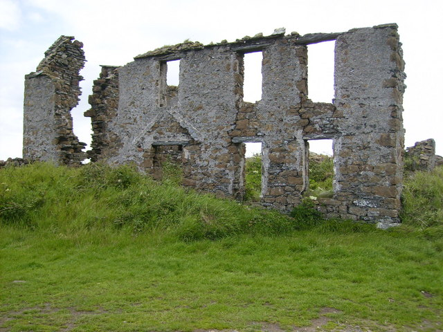 Front facade of building on Langness Peninsula