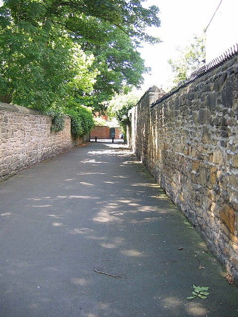 Lane adjacent to Newcastle Cricket Ground