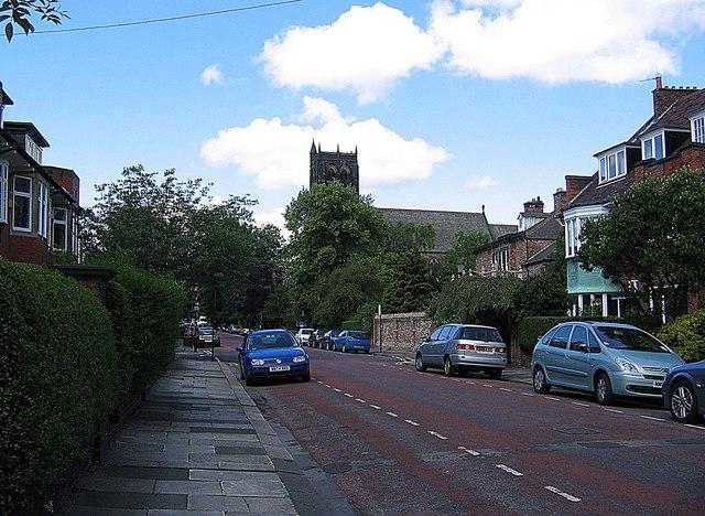 Kingsland looking towards Burdon Terrace
